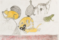 Andy Trudeau, 'Untitled #16 ',  c.2012,  coloured pencil and graphite pencil on paper, 12