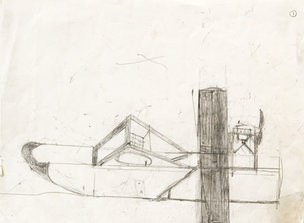 Andy Trudeau, 'Untitled # 3 ',  c.2011,  graphite pencil on paper, 9 x 12 inches (1 of 1).