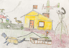 Andy Trudeau, ' Untitled #24', c. 2012, coloured pencil and graphite pencil on paper, 12 x