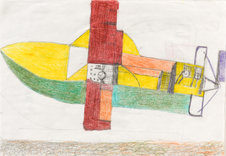 Andy Trudeau, 'Untitled # 11 ',  c.2012,  coloured pencil and graphite pencil on paper, 12