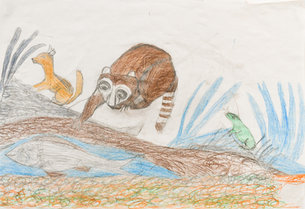 Andy Trudeau, 'Untitled # 14 ',  c.2012,  coloured pencil and graphite pencil on paper, 12