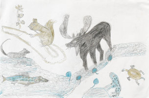 Andy Trudeau, ' Untitled #31 ', c. 2012, coloured pencil and graphite pencil on paper, 12