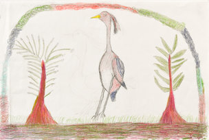 Andy Trudeau, ' Untitled #19', c. 2013, coloured pencil and Graphite pencil on paper, 12 x