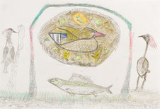 Andy Trudeau, 'Untitled # 15 ',  c.2012,  coloured pencil and graphite pencil on paper, 12