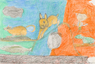Andy Trudeau, ' Untitled #20', c. 2013, coloured pencil on paper, 12 x 17.5 inches (1 of 1