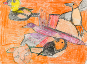 Andy Trudeau, 'Untitled # 25', c.2012, coloured pencil and graphite pencil on paper, 10.5