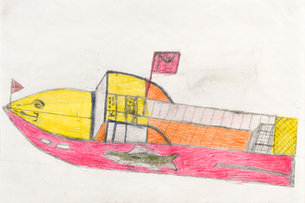 Andy Trudeau, 'Untitled # 12 ',  c.2012,  coloured pencil and graphite pencil on paper, 12