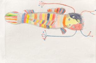 Andy Trudeau, ' Untitled #18' ,c.2012, coloured pencil on paper,12 x 18 inches (1 of 1).jp