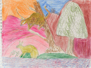 Andy Trudeau, 'Untitled # 29',  c.2012, coloured pencil on paper, 11 x 14.75 inches (1 of
