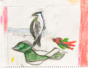 Andy Trudeau, 'Untitled # 30 ',  c.2013, coloured pencil and graphite pencil on paper, 11