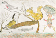 Andy Trudeau, 'Untitled # 13 ',  c.2012,  coloured pencil and graphite pencil on paper, 12