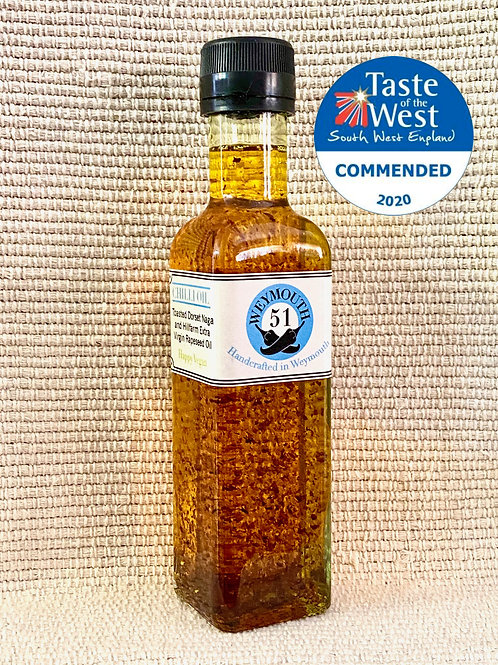 Toasted Dorset Naga Extra Virgin Cold Pressed Rapeseed Oil/ HOT