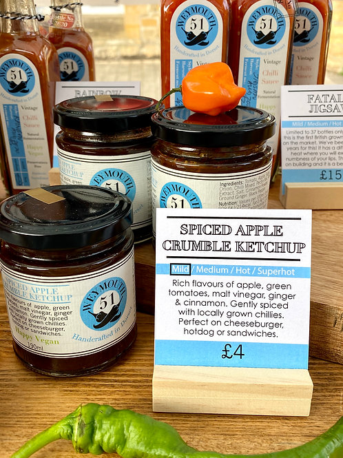 Spiced Apple Crumble Ketchup/ MILD