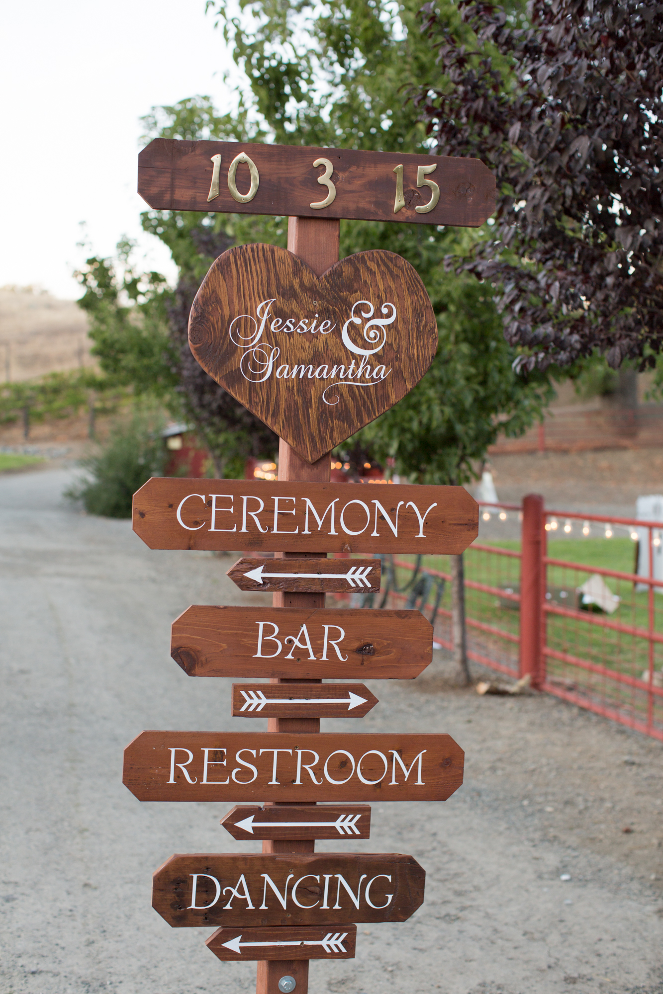 Red Barn Ranch Wedding