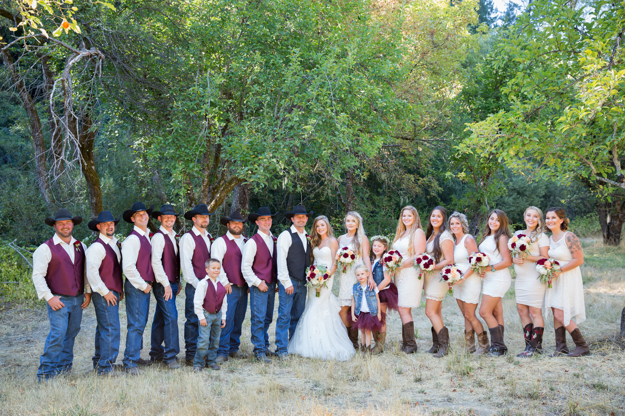 Mendocino Ranch Wedding