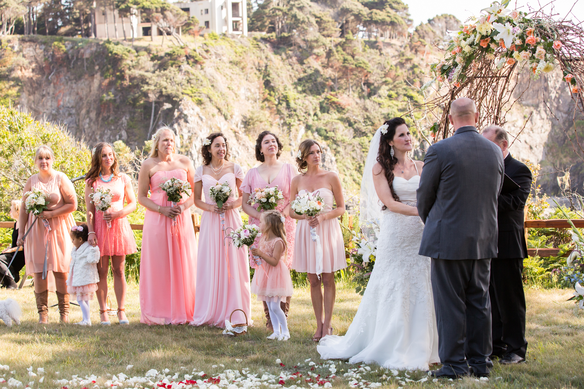 Heritage House Mendocino Wedding