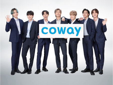BTS CHOOSEN AS COWAY'S NEW GLOBAL BRAND AMBASSADOR