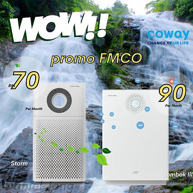coway air purifier promotion