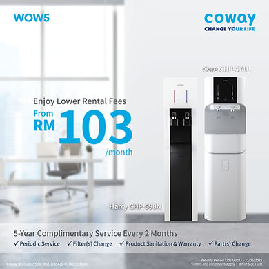 COWAY WOW 5 FOR COPORATE