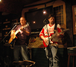 BJ and Todd at the Blarney Stone