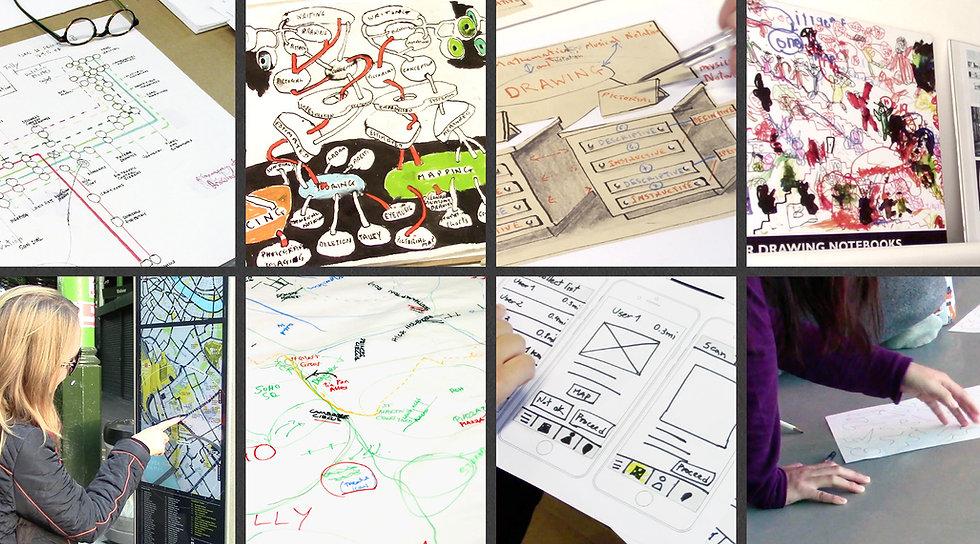 Desenho conectando conhecimentos