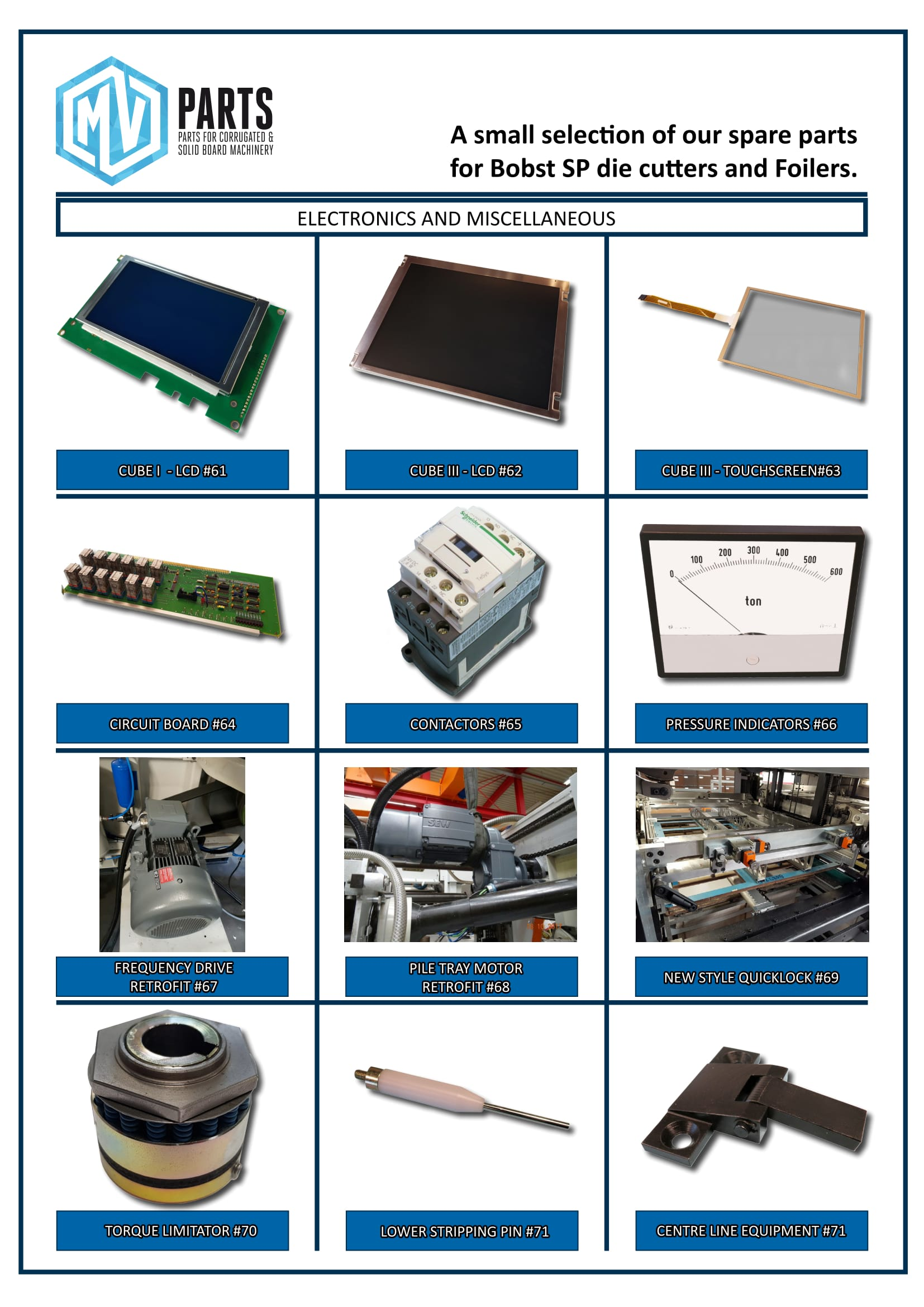 MV-Parts - parts for diecutters-6