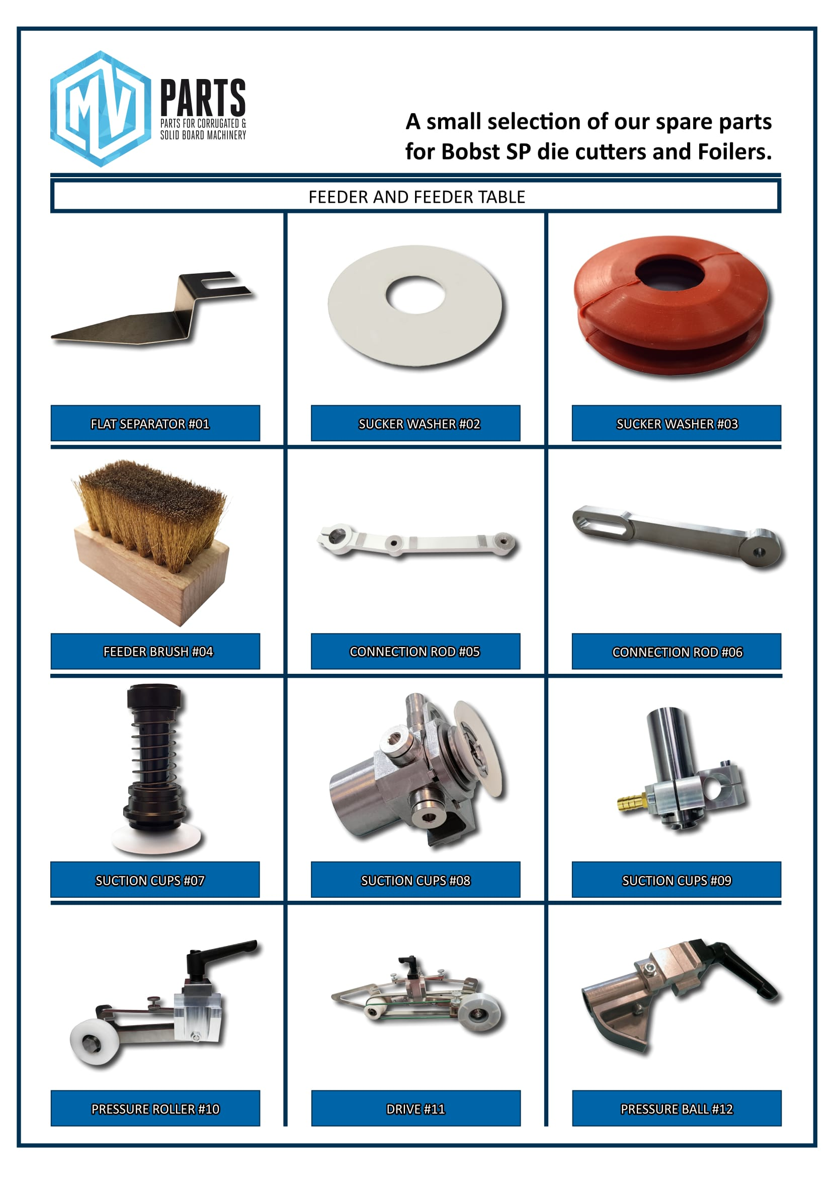 MV-Parts - parts for diecutters-1