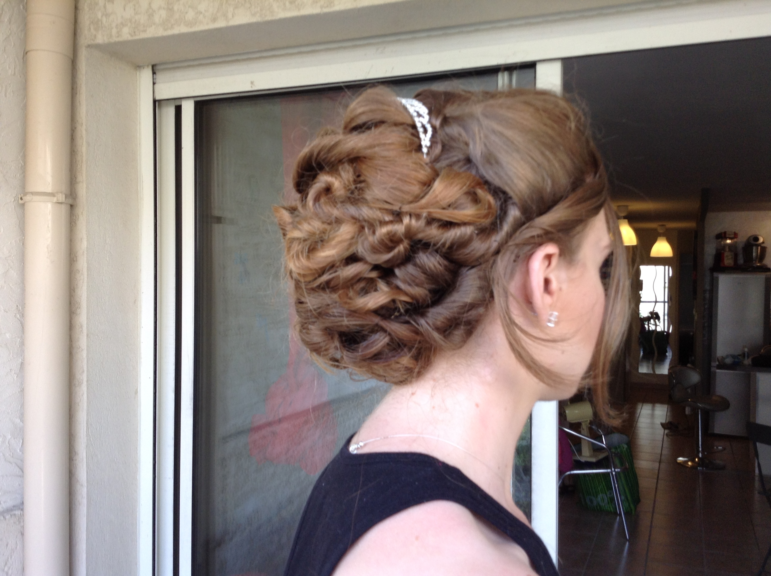 Chignon wedding