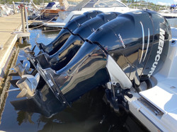 Engines polished and sealed
