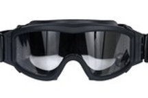 Lancer Tactical Airsoft Safety Goggles, Basic, Clear Lens