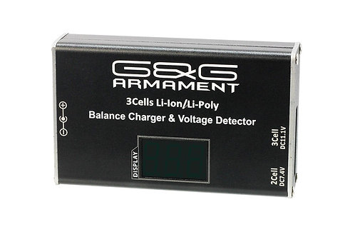 Li-Po Balance Charger/Voltage Detector (with display screen) - US Type