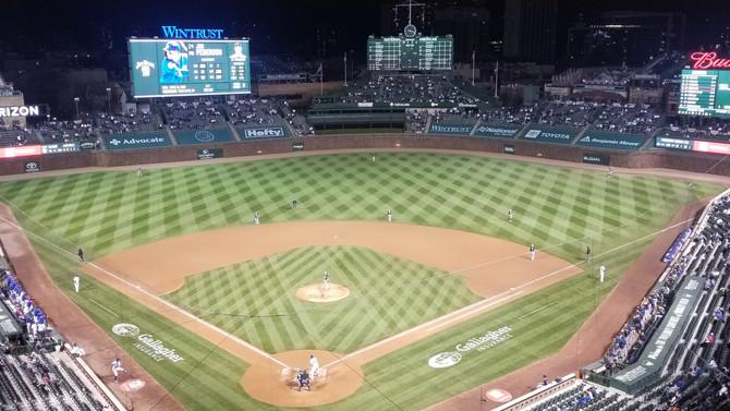 Mets defense plus rare Cubs approach = blowout