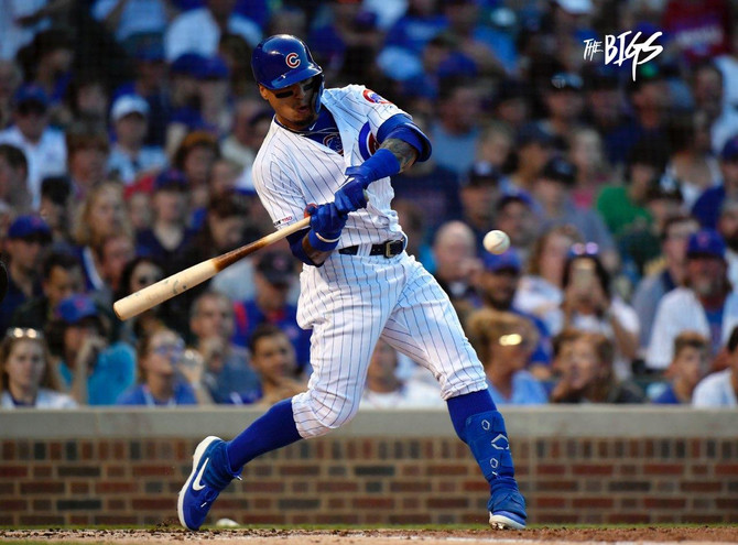 Cubs hold on late to make it 4 in a row on Baez' 5th anniversary