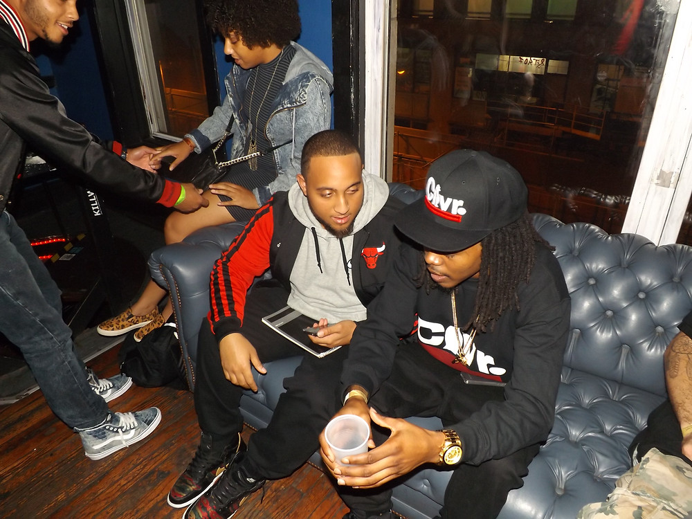 Young Roddy(right) and Terrence Tomlin(left) of The Bigs (Photo by Vincent Gilbert II)
