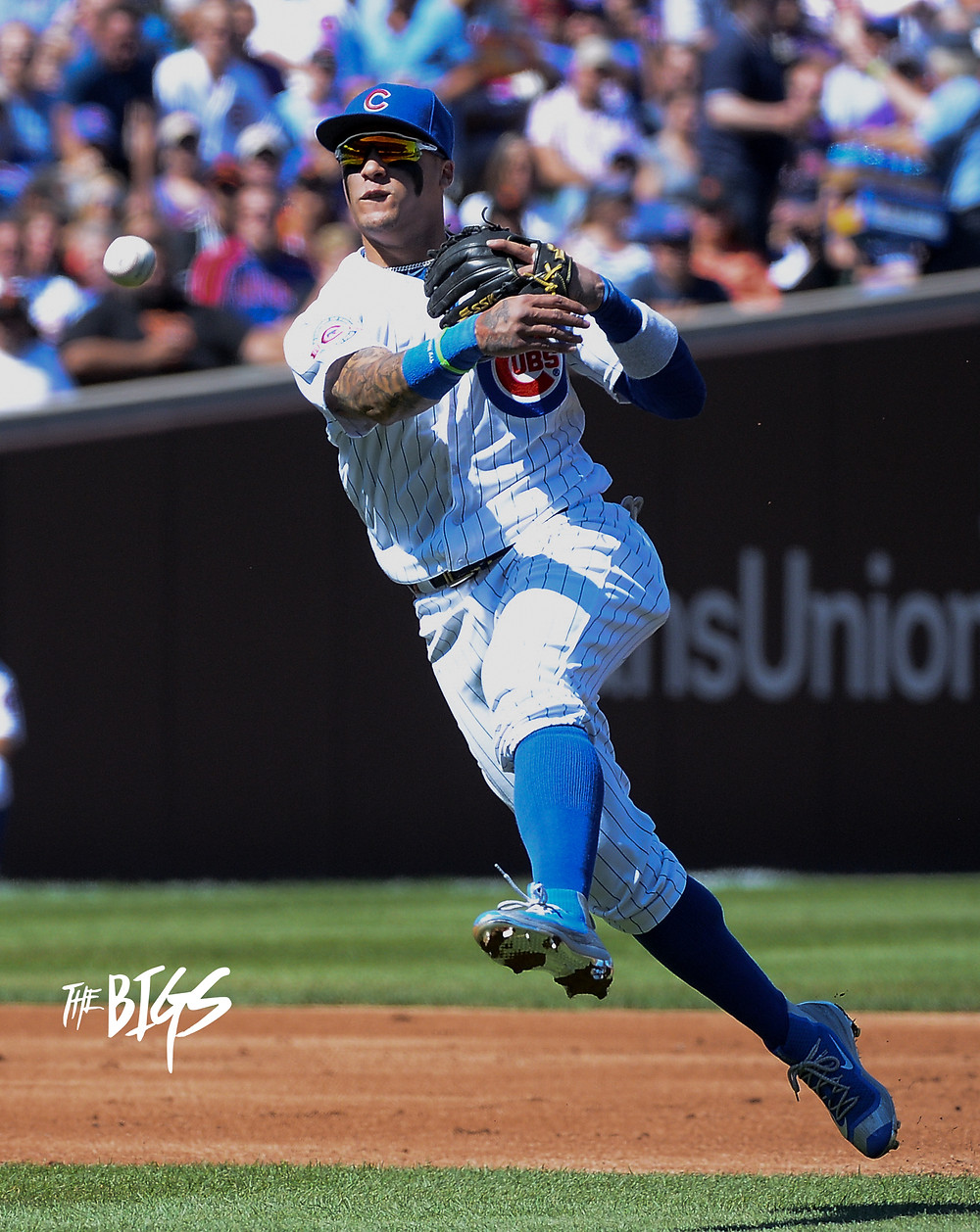 Javier Baez #TheMagician is as smooth as they come (John L. Alexander/The BIGS Visuals)