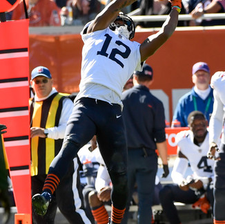 (VIDEO) Notes From Halas: Allen Robinson is focused on getting on same page with Fields
