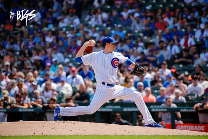 Hendricks outduels Samardzija as Cubs sweep Giants