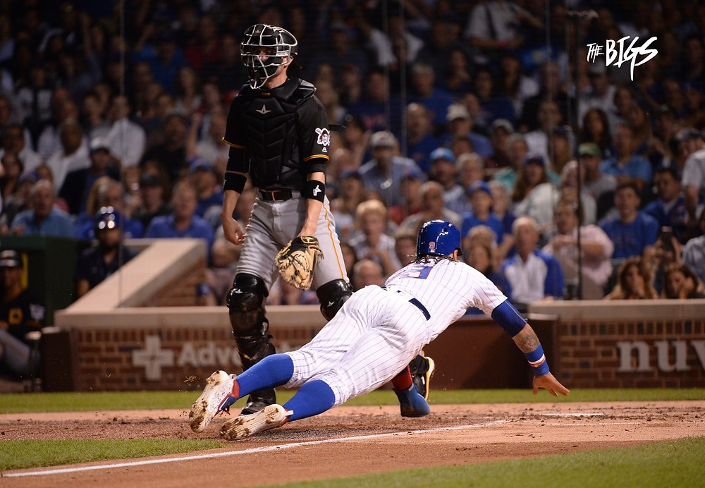#ELMago stealing home in the 2nd inning