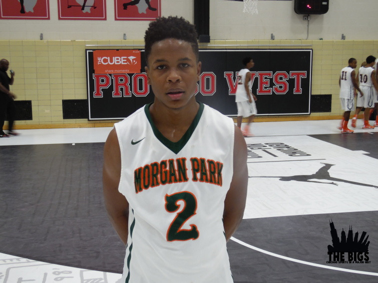 """""""#TheBIGS HS Hooper Of The Year"""", Charlie Moore of Morgan Park"""