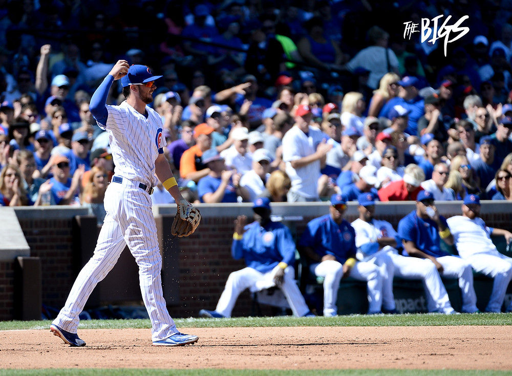Kris Bryant or #TheNatural as #TheBIGS have donned him, stepped his defense up a notch at the hot corner this season on the way to winning 2016 NL MVP (John L. Alexander/The BIGS Visuals)