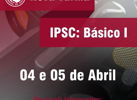 Nova Turma Curso Básico I - 4 e 5 de Abril