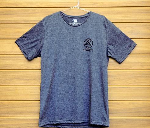 Camiseta Águia de Haia Cinza Mescla