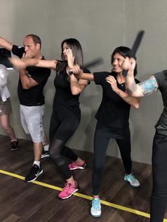Curso de Defesa Pessoal e Combate com facas  20 e 21 de Fevereiro de 2019  Clube de Tiro Atibaia- SP