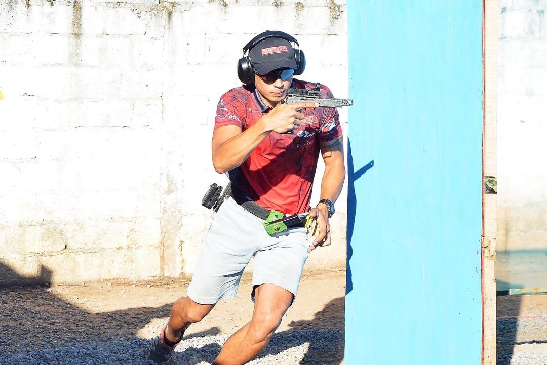 Jaime Saldanha Jr clube de tiro Águia de