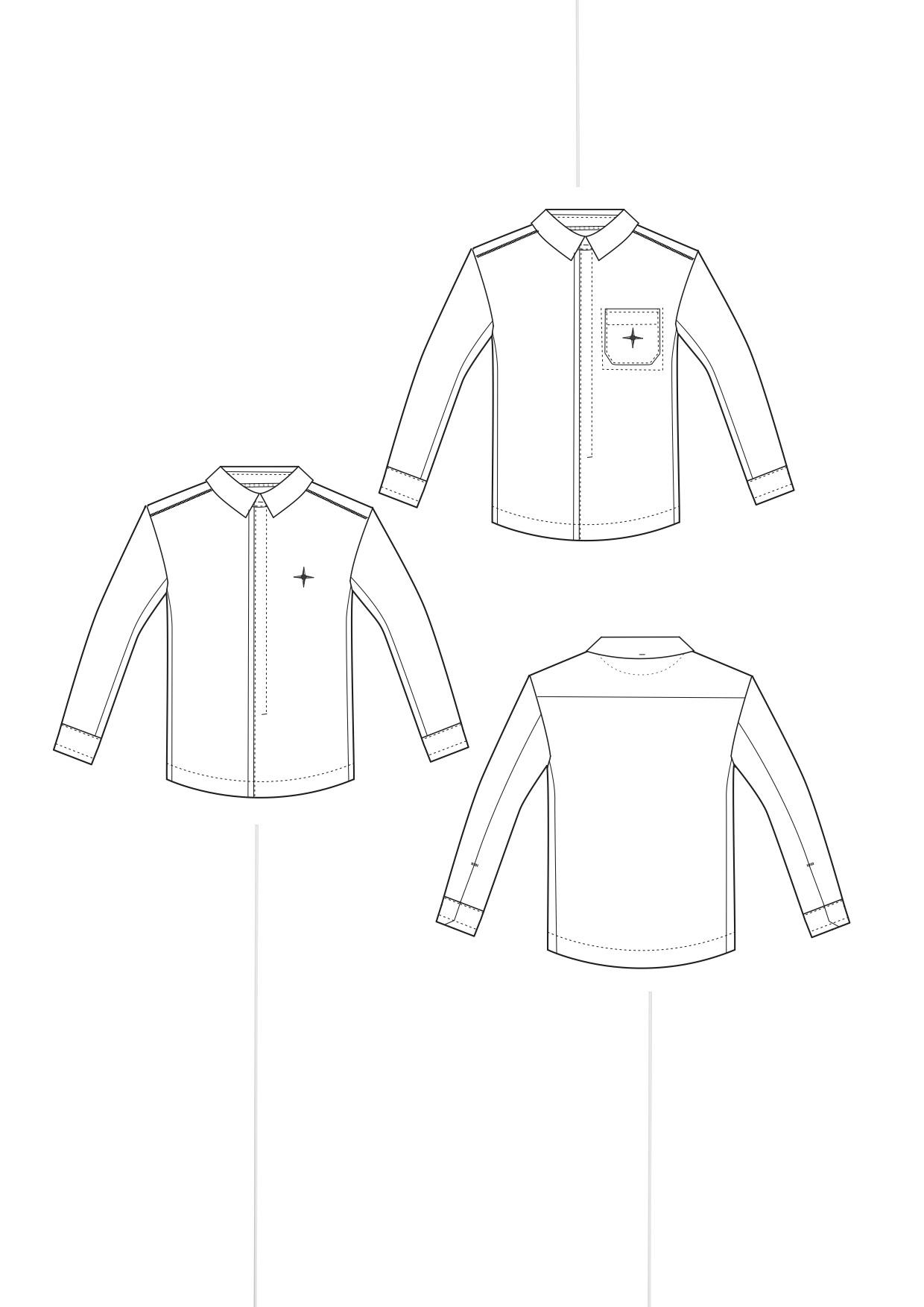 shirt long basic
