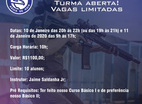 Curso IPSC Rifle - Nível 1