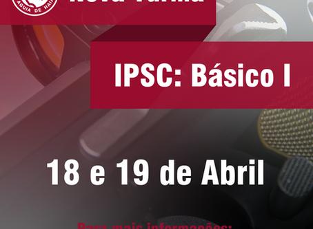 Nova Turma Curso Básico I - 18 e 19 de Abril