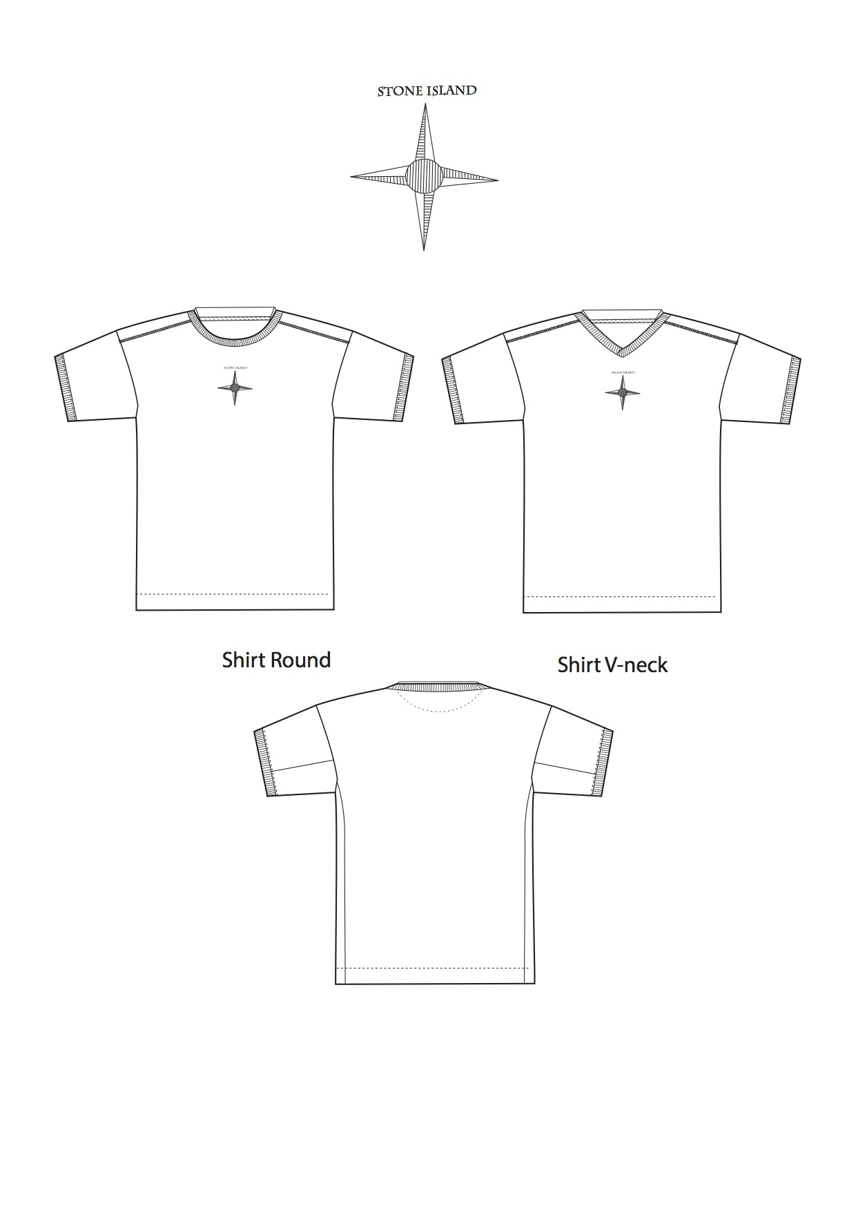 A4 tshirt basic with branding