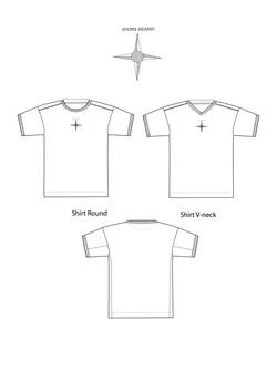 A4 tshirt basic with branding