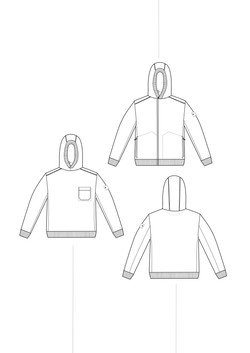 sweater hoodie basic